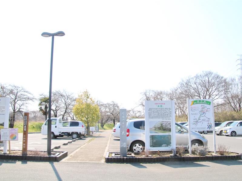 大沼親水公園の駐車場