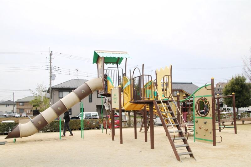 城南公園のコンビネーション遊具
