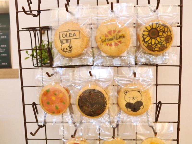 かわいいプリントクッキー