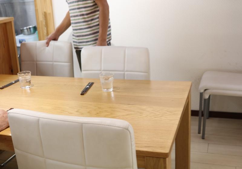 テーブル席もあり