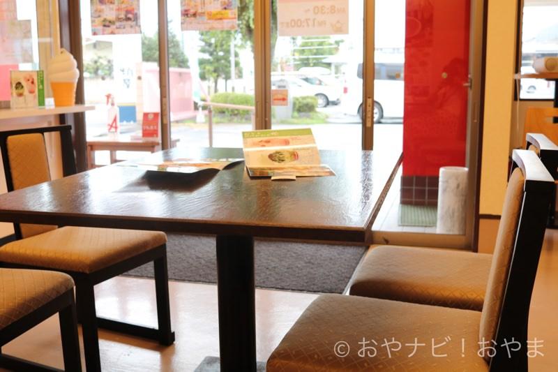 テーブルは2卓